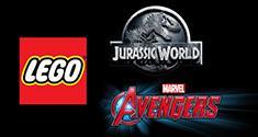 LEGO Jurassic World, LEGO Marvel's Avengers news