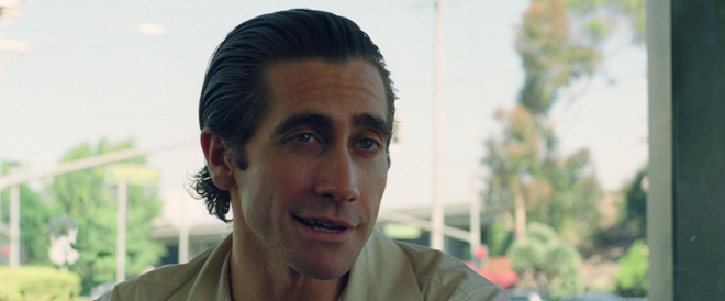 Nightcrawler -- Jake Gyllenhaall as Lou Bloom