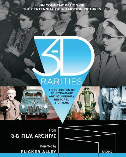 3d rarities blu ray review