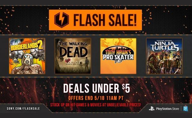 PSN May Flash Sale