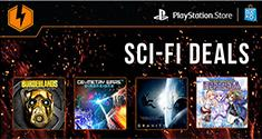 PSN Flash Sale Scifi