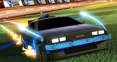 Rocket League Back to the Future DLC news