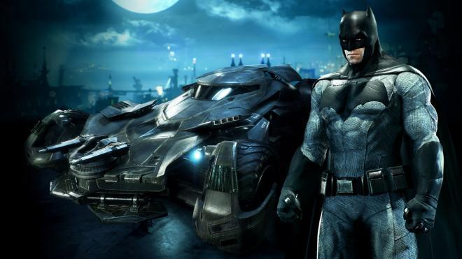 Arkham Knight Batman v Superman