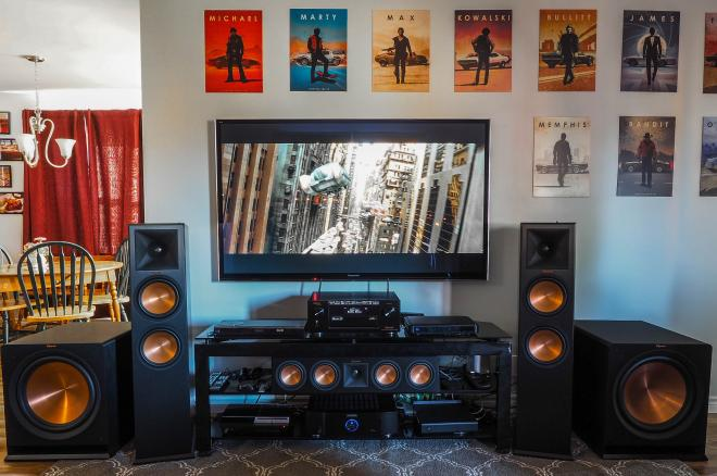 Klipsch Reference Premiere Series with Dolby Atmos Gear