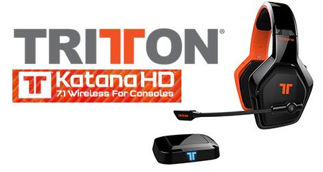 Tritton Katana HD 7.1 Wireless Gaming Headset news