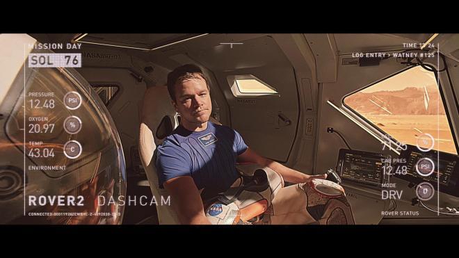 The Martian 3D