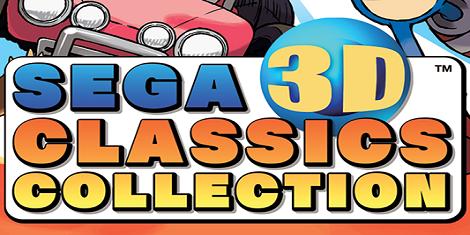 SEGA 3D Classics Collection Releasing in April
