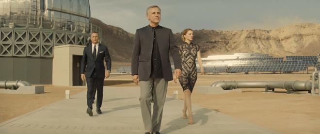 Spectre - Christoph Waltz, Daniel Craig & Lea Seydoux