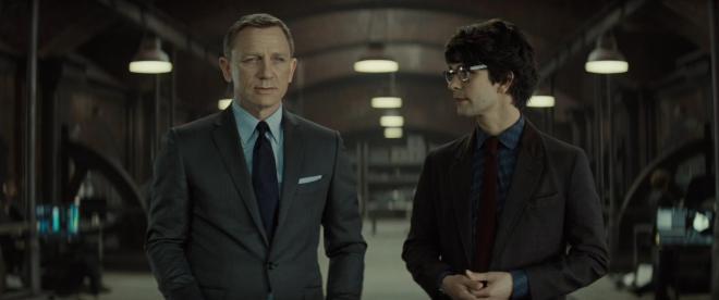 Spectre – Daniel Craig & Ben Whishaw
