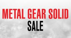 Metal Gear Solid Sale news