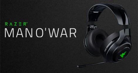 Razer ManO'War Wireless Headset News
