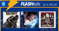 PSN Flash Sale 4/22