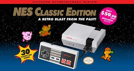 NES Classic Edition Retro Blast From the Past News