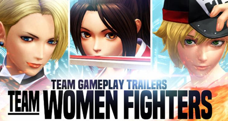 Two Teams Detailed in New 'The King of Fighters XIV' Trailers