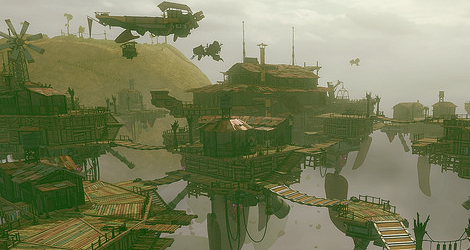 'Gravity Rush 2' Takes Place in the Mining Settlement of Banga