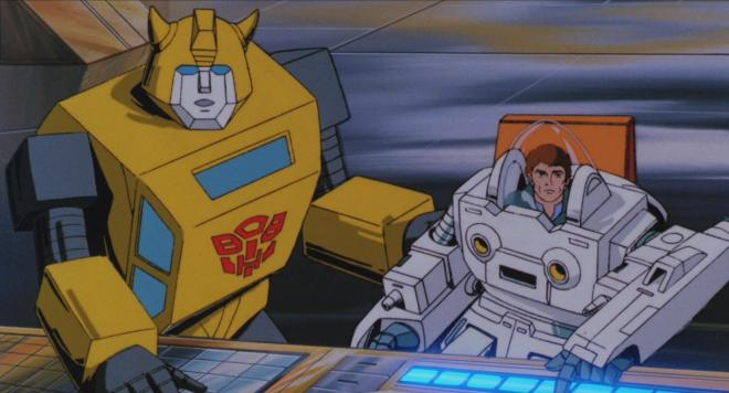Transformers The Movie - Bumblebee & Spike