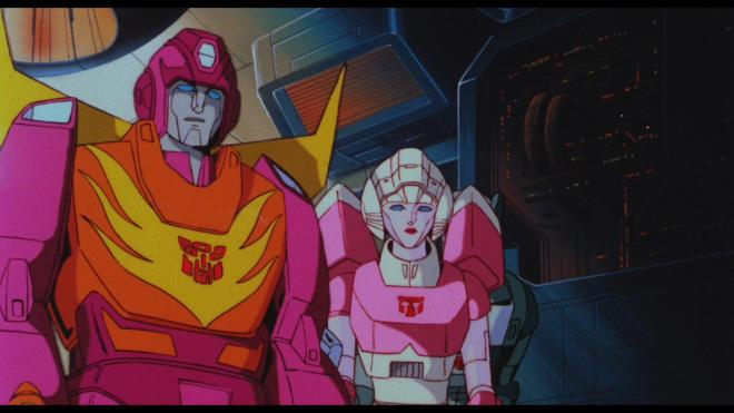 Transformers The Movie - Hot Rod & Arcee (Widescreen)