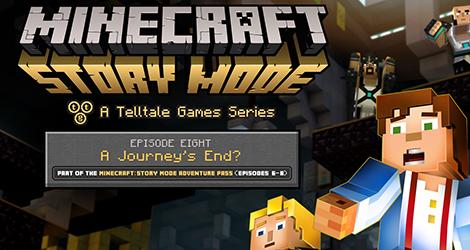 Minecraft: Story Mode Episode 8 - Journey's End news