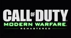 Call of Duty Modern Warfare Remastered news