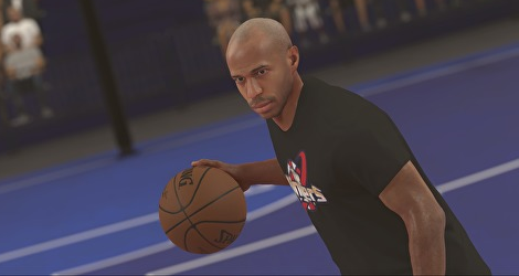 French Football Legend Thierry Henry is Playable in 'NBA 2K17'