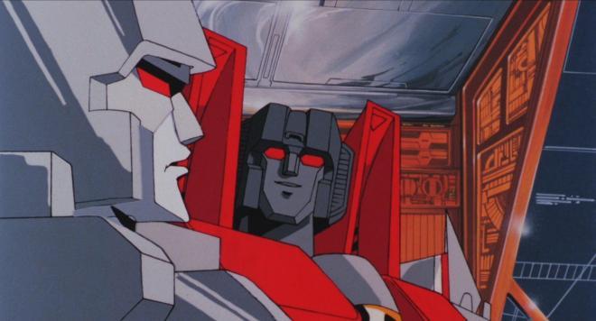 Transformers: The Movie – Megatron & Starscream