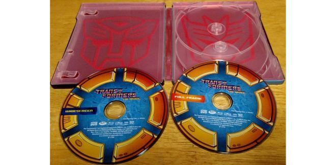 Transformers The Movie – Blu-ray SteelBook inside