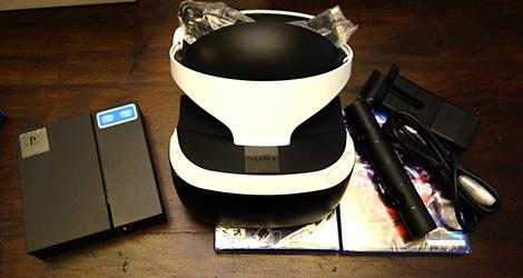 PlayStation VR unboxing news