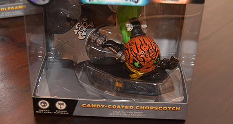 Candy-Coated Chopscotch Special Halloween Skylanders Imaginators news