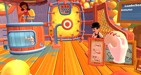 'Carnival Games VR' Releases for HTC Vive and PSVR Today