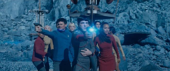 Star Trek Beyond – McCoy, Spock & Uhura