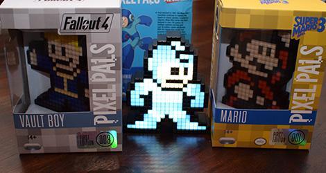 PDP Pixel Pals news Mega Man Vault Boy Mario