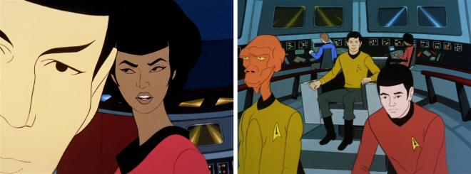 Star Trek Animated - Spock, Uhura & Sulu