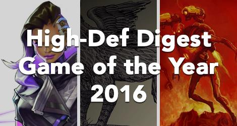 High-Def Digest Game of the Year 2016 news