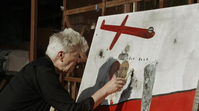 David Lynch The Art Life - Painting