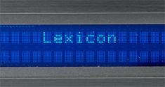 Harman Lexicon