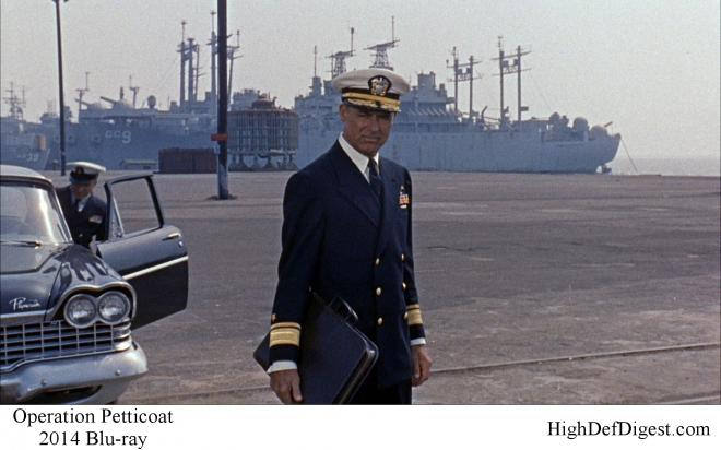 Operation Petticoat - Comparison 1 2014 Blu-ray