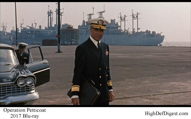 Operation Petticoat - Comparison 1 2017 Blu-ray