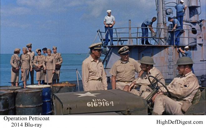 Operation Petticoat - Comparison 2 2014 Blu-ray