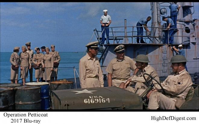 Operation Petticoat - Comparison 2 2017 Blu-ray