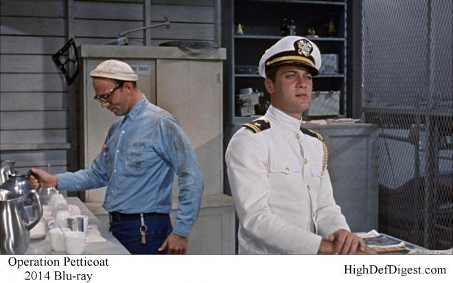 Operation Petticoat - Comparison 3 2014 Blu-ray