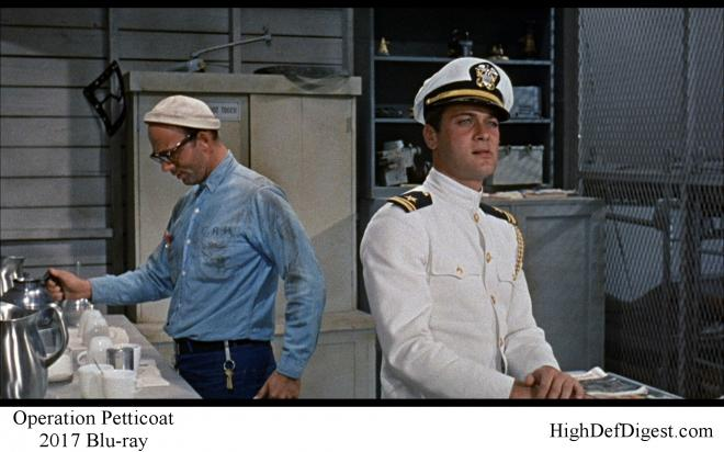Operation Petticoat - Comparison 3 2017 Blu-ray