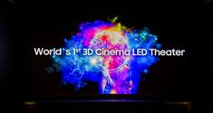 Samsung 3D LED Cinema Screen
