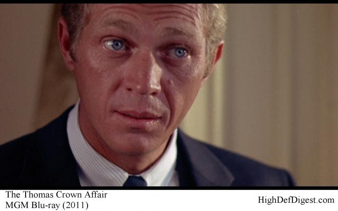 The Thomas Crown Affair - Steve McQueen Comparison MGM