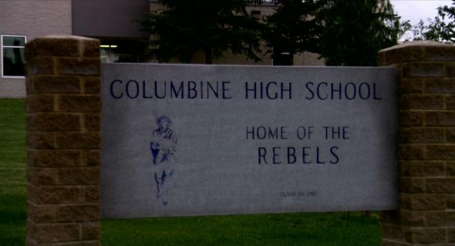 Bowling for Columbine - School Sign