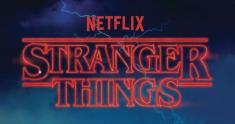 stranger things logo news