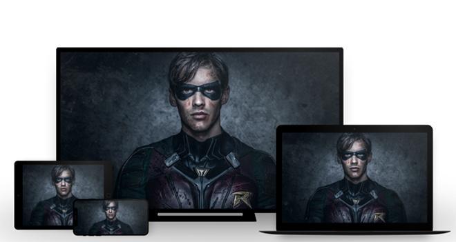 DC Universe streaming large