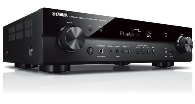 yamaha slimline receiver large