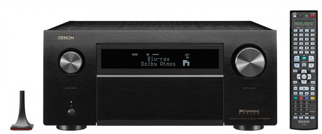 Denon AVR-X8500H with remote