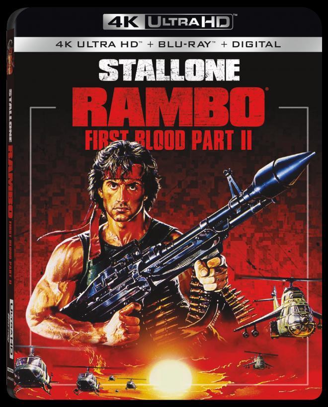 Rambo: First Blood Part II - 4K Ultra HD Blu-ray Ultra HD