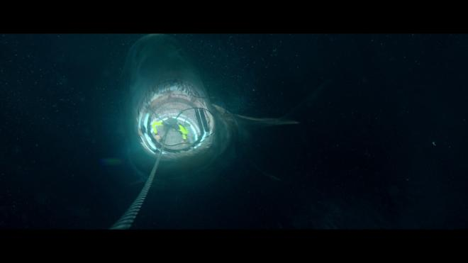 The Meg 4K 3D Blu-ray